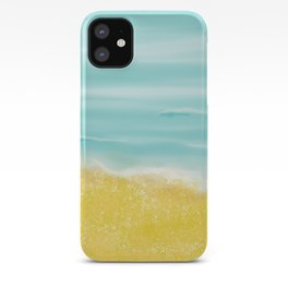 Beach front iPhone Case