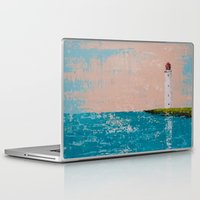 yin yang Laptop & iPad Skins featuring YIN YANG by Olga Krokhicheva
