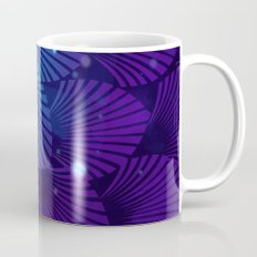 Variations on a Feather III - Raven Wing Deconstructed Coffee Mug