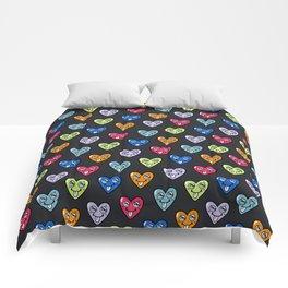 LOVE HEARTS Comforters