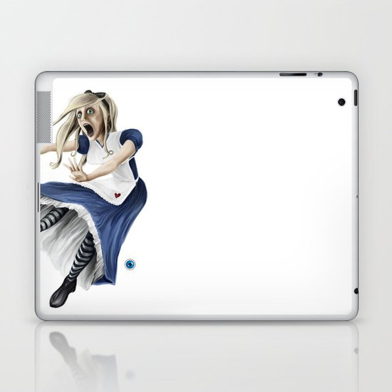 Falling Alice Laptop & iPad Skin