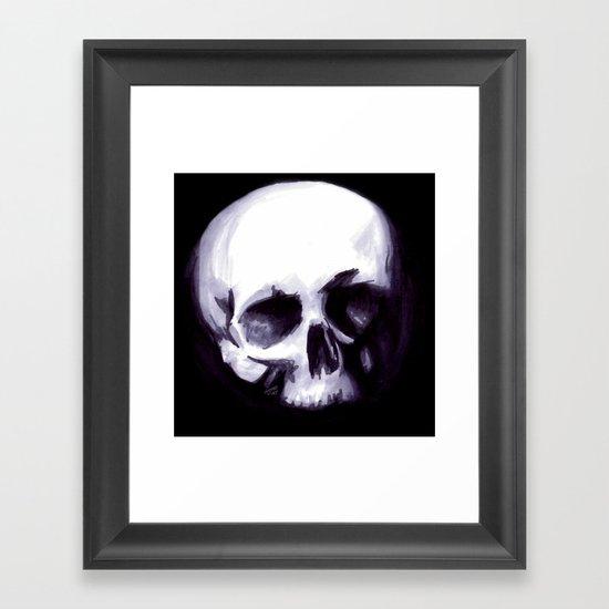 Bones I Framed Art Print