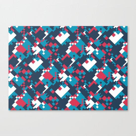 pixelated 2.0 Canvas Print