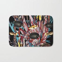 Tropical Fish and Seaweed Bath Mat