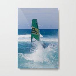 Hookipa Windsurfing North Shore Maui Hawaii Metal Print