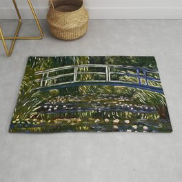 Monet's Water Lily Pond - Der Roj study Rug