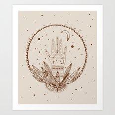 SIGH DREAMS Art Print