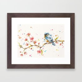 Little Journeys (BlueBird) Framed Art Print