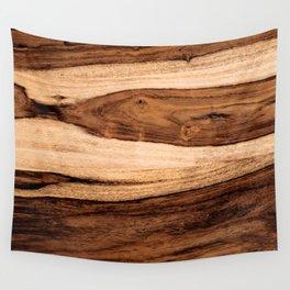 Sheesham Wood Grain Texture, Close Up Wall Tapestry