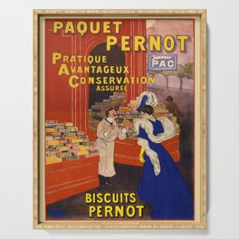 Vintage poster - Biscuits Pernot Serving Tray