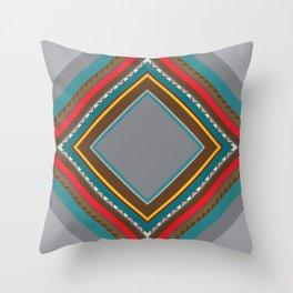 Incas' Culture Heritage Throw Pillow