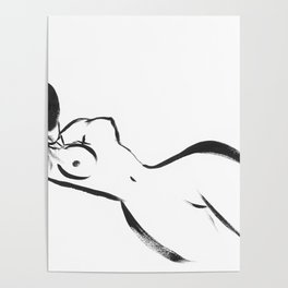 Abstract Woman Art Poster