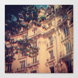 Paris in June Canvas Print