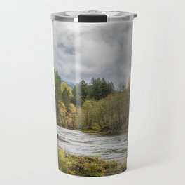 Fall on the McKenzie River Travel Mug