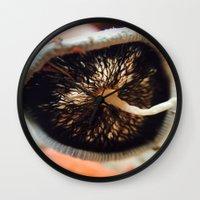 mushroom Wall Clocks featuring Mushroom by UMe Images
