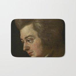 Wolfgang Amadeus Mozart (1756 -1791) by Joseph Lange Bath Mat