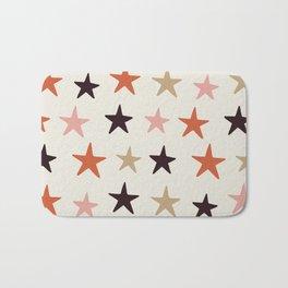 Star Pattern Color Bath Mat