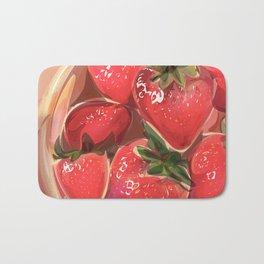 fraises. Bath Mat