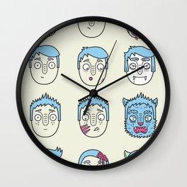 Monster Mash Up Wall Clock