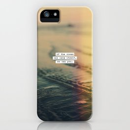 Calm Yourself iPhone Case