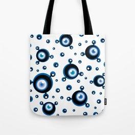 Justified Paranoia Blue Tote Bag