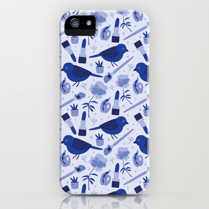 Birds in Winter iPhone Case