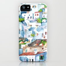 Panorama of Lindos iPhone SE Slim Case