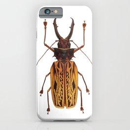 Macrodontia Cervicornis Sabertooth Beetle iPhone Case