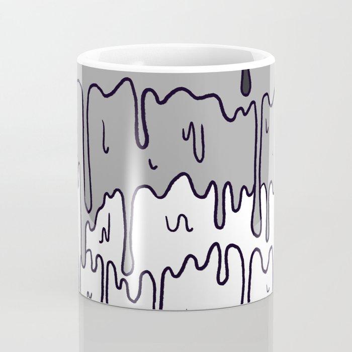 Cute Pride Pastel Melting Pride Design, Asexual  flag Coffee Mug