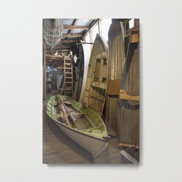 The Old Boat Shed Metal Print