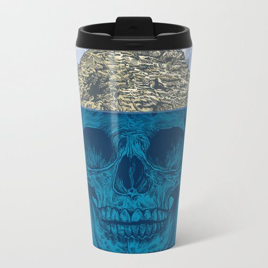 Skull Island Metal Travel Mug