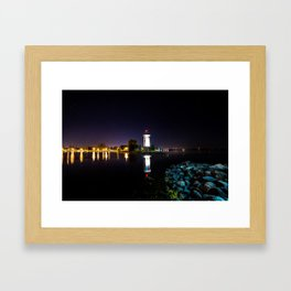 Lakeside Park Framed Art Print