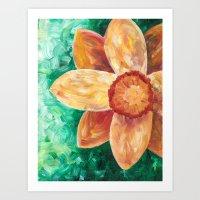 A Doozy of a Daffodil Art Print