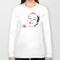 miley cyrus Long Sleeve T-shirts featuring Miley Cyrus by ☿ cactei ☿