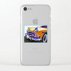 1951 Yellow Hudson Hornet Clear iPhone Case
