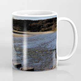 Three Cliffs Bay stepping stones Coffee Mug