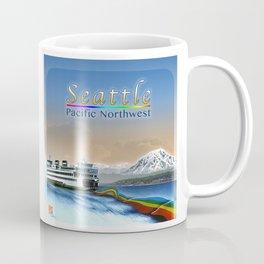 DW-001 Rainbows On Puget Sound - Second State Coffee Mug