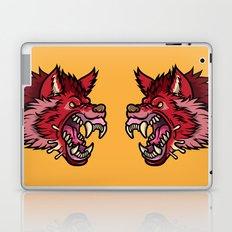 Crimson Wolf Laptop & iPad Skin