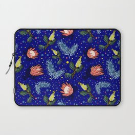 Australian Native Floral Pattern - Bright and Cute Laptop Sleeve