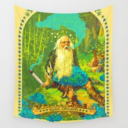 BLUE DREAM Wall Tapestry
