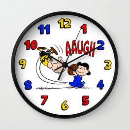 It's Football Season, Charlie Brown! Wall Clock
