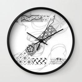 "Zenletter ""Z"" Wall Clock"