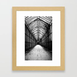 This way to the Greenhouse Framed Art Print