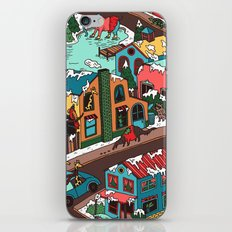 This Place is a Zoo! iPhone Skin