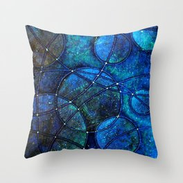 Looking Up (at night) Throw Pillow