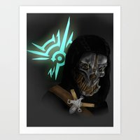 dishonored Art Prints featuring Dishonored by Hetty's Art