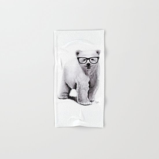 Polar Disorder Hand & Bath Towel