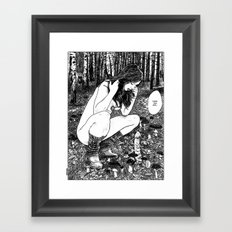 asc 414 - La trouvaille (There you are!…)  Framed Art Print