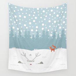Deep Snow Wall Tapestry