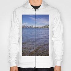 Lake Union and Seattle Skyline Hoody